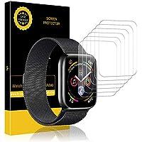 LK pere Apple Watch 42mm / 44mm Protector de Pantalla, [6 Piezas] Piel líquida HD Film Flexible Transparente para Apple Watch Series 1,Series 2,Series 3,Series 4 [garantía de reemplazo de por Vida]