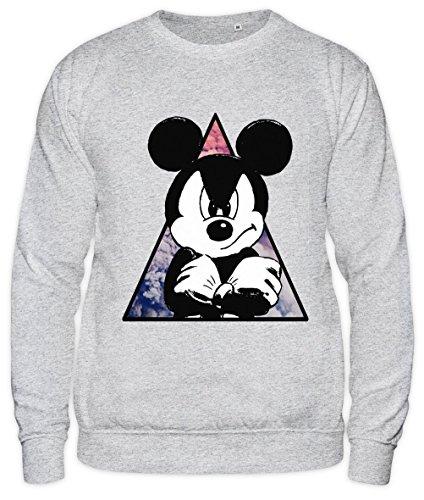 Galaxy Angry Mickey Mouse Unisex Sweatshirt Large