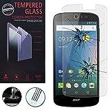 VCOMP Silikon Tasche Rumpf Gel für Acer Liquid Z530/Z530S - 1 Folie Hartglas