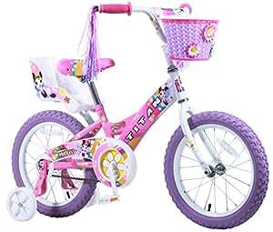 Titan Girls Flower Princess BMX Bike, Pink, 16-Inch