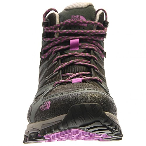 The North Face W Ultra Hike Ii Mid Gtx, Scarpe da Escursionismo Donna Nero (Negro (TNF Black / Sweet Violet))