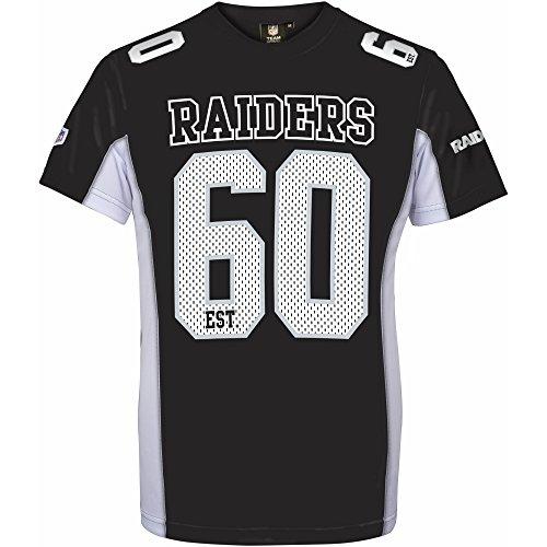 Majestic NFL Mesh Polyester Jersey Shirt - Oakland Raiders XXXL Black