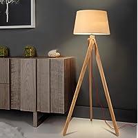 Nordic Wooden Stehleuchte Kreative Wohnzimmer Studie Schlafzimmer Schlafzimmer Holz Stativ Stehleuchte preisvergleich bei billige-tabletten.eu