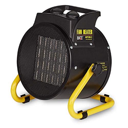 Tragbare elektrische Industrie-Heizlüfter Kleine Heißluftgebläse wasserdichte Heizung for den Heimgebrauch (Size : 2000W)