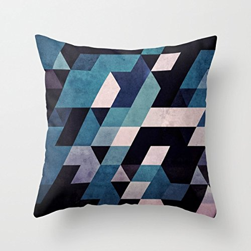 Preisvergleich Produktbild Slimmingpiggy Geometry Throw Pillow Covers 20 X 20 Inches / 50 By 50 Cm Gift Or Decor For Couch,relatives,club,living Room,kitchen,wife - Each Side