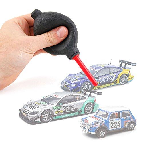DURAGADGET Soplador Limpiador Para Coches De Scalextric Compact / Scalextric Original - ¡Ideal Para Limpiar El Polvo Y Mejorar El Contacto!