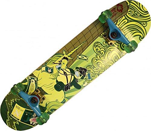 red-rebel-skateboard-komplettboard-einhorn-80-inch-mit-venture-achsen-gold