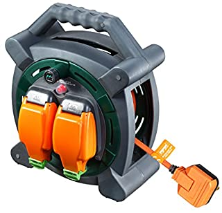 Masterplug HLP2013/2IP 20m Outdoor IP Rated Cable Reel with Weatherproof Sockets 13A Case Reel (2 Sockets) (B004R255VQ) | Amazon Products