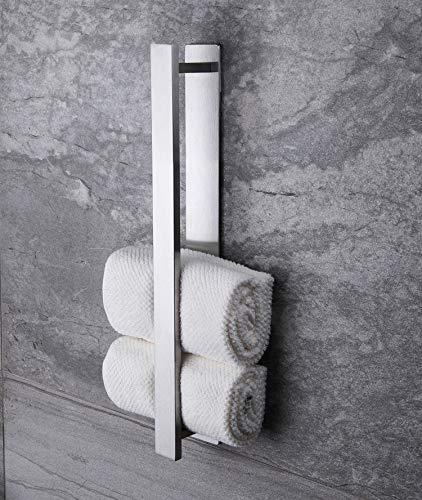 Ruicer Handtuchhalter Selbstklebend Handtuchstange Ohne Bohren Gästehandtuchhalter