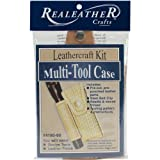 Realeather Crafts Leather Leathercraft Kit Multi-Tool Case