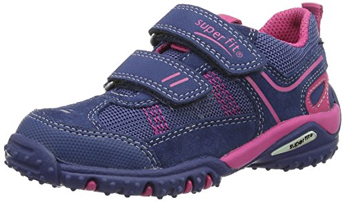 Superfit Sport4 Mädchen Sneaker, Blau (Water Multi 89), 31 EU