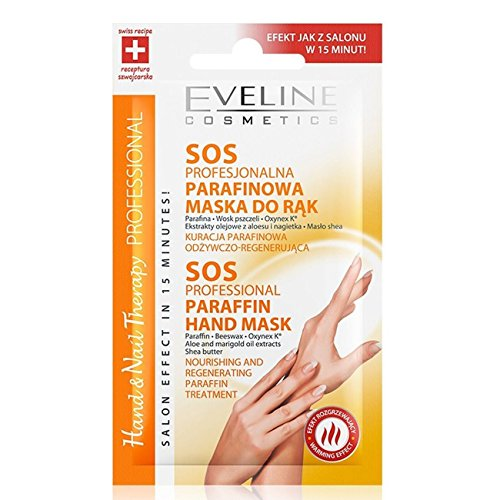 Eveline Professional Hand & Nail Therapy SOS Paraffin Mask (pack of 10) -