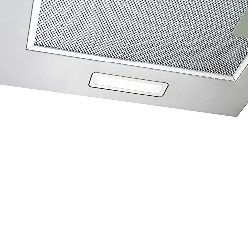 51QzGKdOK9L. SS500  - Cookology CGL700SS 70cm Curved Glass & Stainless Steel Kitchen Chimney Cooker Hood