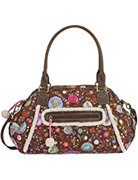 Oilily Fancy Planet Carry All Espresso