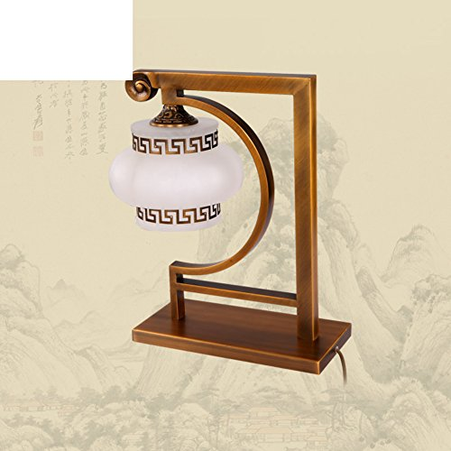 Natürliche Marmor (Natürliche Marmor Lampe/Voll-messing Lampe/Chinesische Art,Schlafzimmer,Studie,Bedside-tischleuchten)