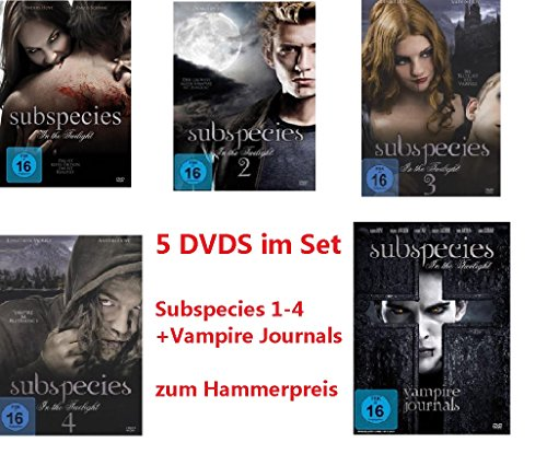 Subspecies in the Twilight 1-4, 1-5 In the Twilight + Vampire Journals (The Vampire Journals)