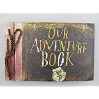 Photo Album Scrapbook Hand Made Movie Theme per gli amanti del per, Avventura libro, Our Adventure Book - Album Handmade Wedding Photo