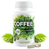 Grüner Kaffee Kapseln 7.000mg –  Hochdosierter Green Coffee Extrakt Zum Abnehmen -  Effektiver Appetitzügler Und Fatburner Für Männer Und Frauen