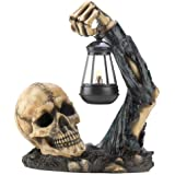 Gifts & Decor Sinister Skull With Lantern Halloween Party Decoration By Dragon Crest