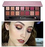 14 Farben Lidschatten Palette Nature Glow ??ZEZKT-Beauty Schönheits Kosmetik Wasserdicht Lidschatten Palette Eyeshadow -