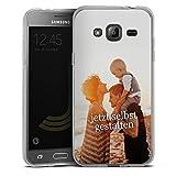 DeinDesign Samsung Galaxy J3 2016 Silikon Hülle Case Handyhülle Selbst Gestalten Personalisieren Zum Anpassen