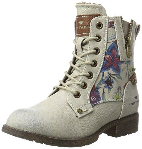 Tom Tailor Mädchen 3770103 Stiefel, Weiß (Offwhite), 32 (Für Mädchen Weiße Stiefel)