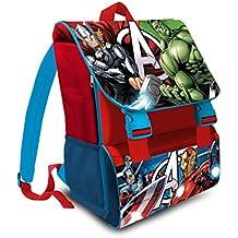 zaino Avengers Capinta America ESTENSIBILE ITALIANO Scuola elementare