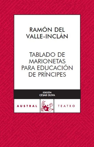 Tablado de marionetas (Teatro) por Ramón del Valle-Inclán