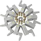 10pcs /Lot Heim Universal Kabinett Bewegungsmelder LED Nachtlichter Kleiderschrank Scharnier LED Light System Home Kitchen Lamp
