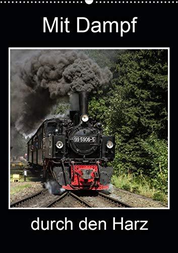 Mit Dampf durch den Harz (Wandkalender 2020 DIN A2 hoch): Erleben Sie die Dampflokomotiven im Harz (Planer, 14 Seiten ) (CALVENDO Technologie)