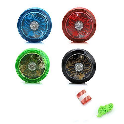 Keepart YoYo Ball mit Beleuchtung, für Jonglier-Spielzeug, zufällige Farbauswahl