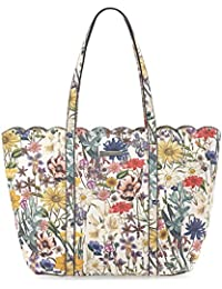MARGOT Damen Handtasche, Shopping Bag, Shopper, 35x32x10 cm (B x H x T), 2 Farben: off white comb. oder multicolour, Farbe:multicolour Tamaris