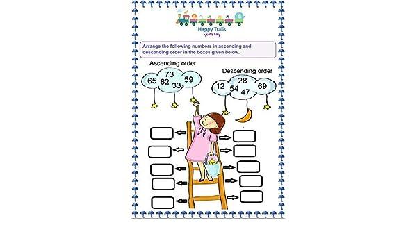 Happy Trails Maths Worksheets for Srkg Senior Kg , UKG