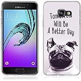 Coque Samsung Galaxy A3 (2016), Fubaoda [chien] artistique Série Peinture Étui TPU silicone élégant et sobre pour Samsung Galaxy A3 (2016) (A310)