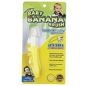 Baby Banana Brush for toddler training toohbrush