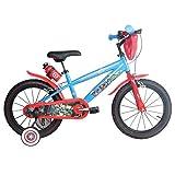 16 Zoll Marvel Avengers Kinderfahrrad Fahrrad für Kinder ab ca. 4 Jahren