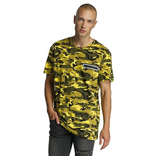 Bangastic Herren Oberteile / T-Shirt Pocket Gelb