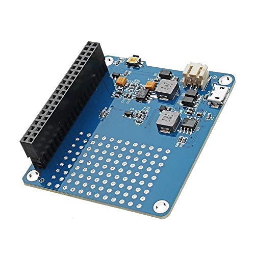 ro Ups Hat Lithium Battery Expansion Board for Raspberry Pi Charging ()