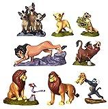 Disney Set 8 Personaggi PVC The Lion King RE Leone Anche Decorazione Torte