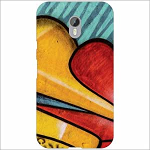 Moto G (3rd Generation) Back Cover - Silicon Shapes Designer Cases