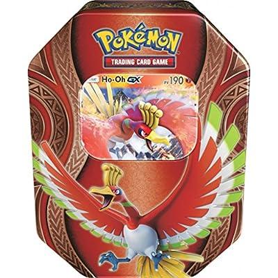 Pokébox Noël 2017 Boîte métal Pokémon Ho-Oh Gx Version française