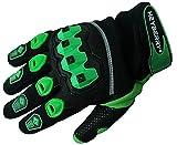 Heyberry Motocross Offroad MTB MX Handschuhe schwarz grün Gr. S