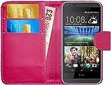 GizzmoHeaven HTC Desire 620 / 620G Leder Hülle