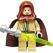 LEGO Star Wars - Figura de Qui-Gon Jinn con espada láser (del juego