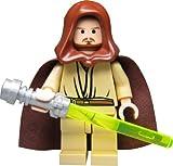 LEGO® STAR WARS™ Figur Qui-Gon Jinn mit Laserschwert, sehr seltene Alternativversion aus Bausatz 7665