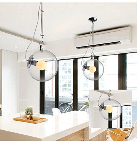 Sapone creativo di long bolle lampada da letto lampadario in vetro moderno ingresso minimalista salotto dopo illuminazione lampadario in vetro