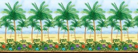 boy-Motiv, Wanddekoration, Tropisches Paradies ()