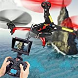 OOFAY Drone with Camera X250 Remote Control Quadcopter Four-Way Six-Axis Gyroscope Aircraft Image Transmission by OOFAY