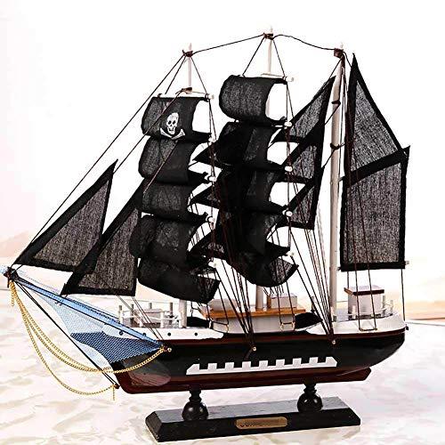 Kein 564 Modell (Guvd Großsegler Segelboot Modell Handwerk Dekoration aus Holz nautischen Corsair Tabletop Ornament Maritime Toy Crafts)
