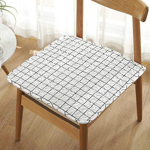 GE&YOBBY 2 Pack Süße Baumwolle Stuhl Pad, Esszimmerstuhl Pad Cartoon Schöne Design- Easy Fit to Stuhl Für Schulkindergarten-q 40x40cm(16x16inch) -